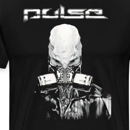 Pulse Alien Merch - Männer Premium T-Shirt