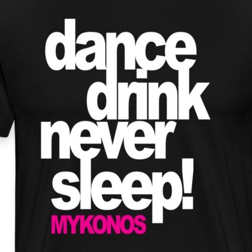 Mykonos Soirée - T-shirt Premium Homme