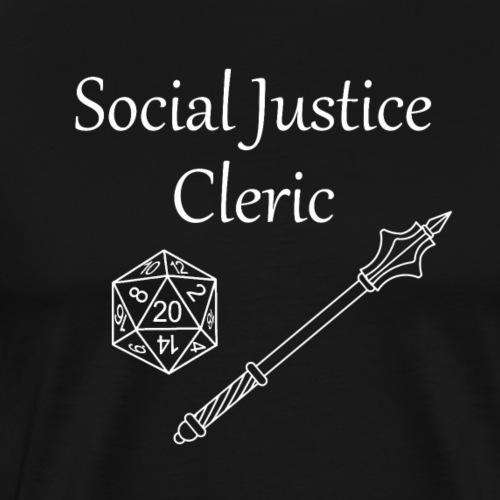 Social Justice Cleric - Men's Premium T-Shirt