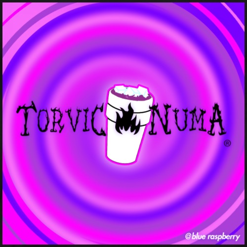Torvic X Numa Raspberry Square - T-shirt Premium Homme