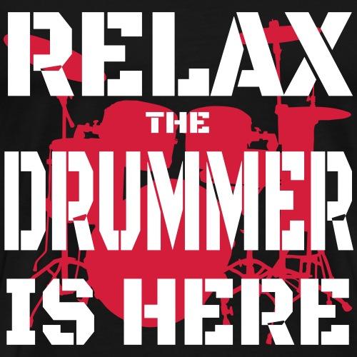 Relax Drummer 2 - Men's Premium T-Shirt