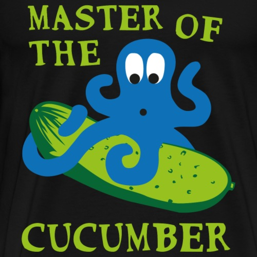 Krake Gurke Master - Männer Premium T-Shirt
