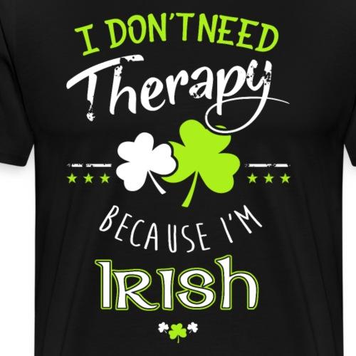 Therapy Irish - Männer Premium T-Shirt