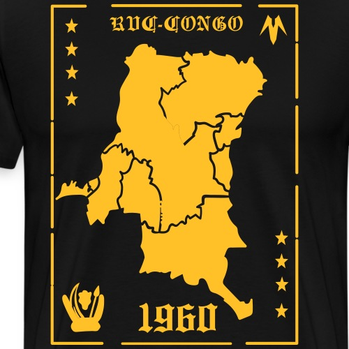 RDC - CONGO - 1960 - Männer Premium T-Shirt