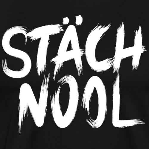 SCHTÄCHNOOL - Männer Premium T-Shirt