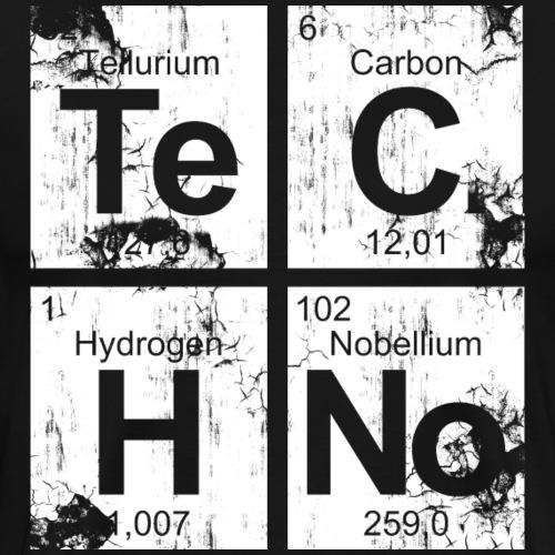 Dirty Techno Chemie - Männer Premium T-Shirt
