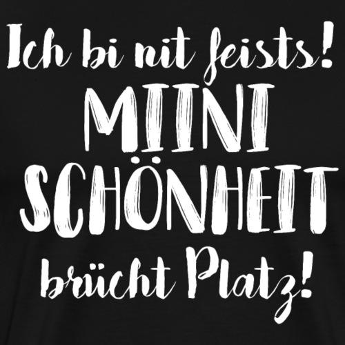 MIINI SCHÖNHEIT BRÜCHT PLATZ - Männer Premium T-Shirt