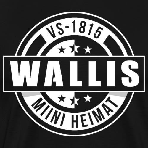 WALLIS - MIINI HEIMAT - Männer Premium T-Shirt