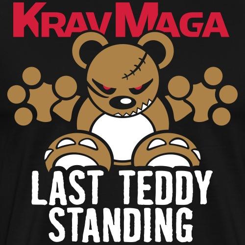 Teddy »KravMaga« – Only Black! - Männer Premium T-Shirt