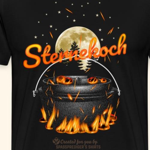 Sternekoch Funken | Dutch Oven T-Shirts - Männer Premium T-Shirt