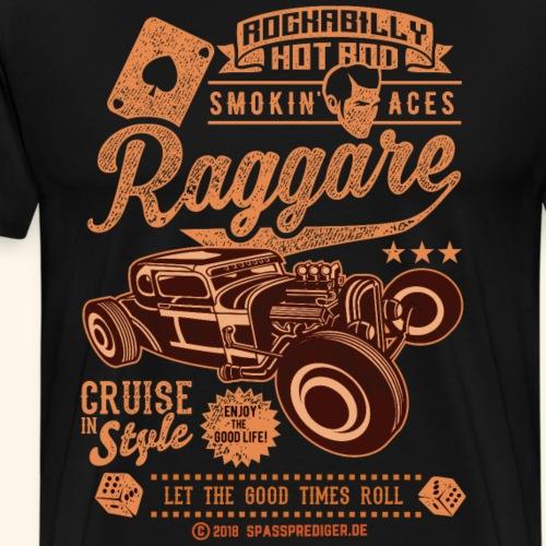 Hot Rod Raggare T Shirt Design | spassprediger.de - Männer Premium T-Shirt