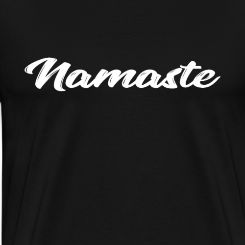 namaste yoga geschenk t shirt - Männer Premium T-Shirt