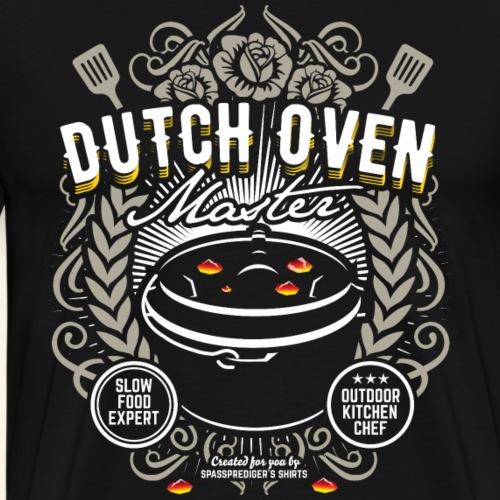 Dutch Oven T Shirt Dutch Oven Master - Männer Premium T-Shirt