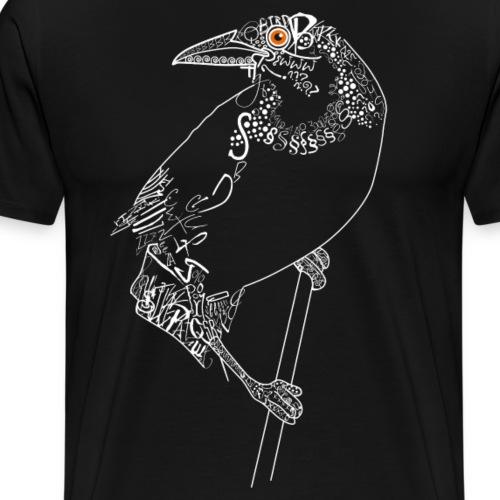 Bird weiss - Männer Premium T-Shirt