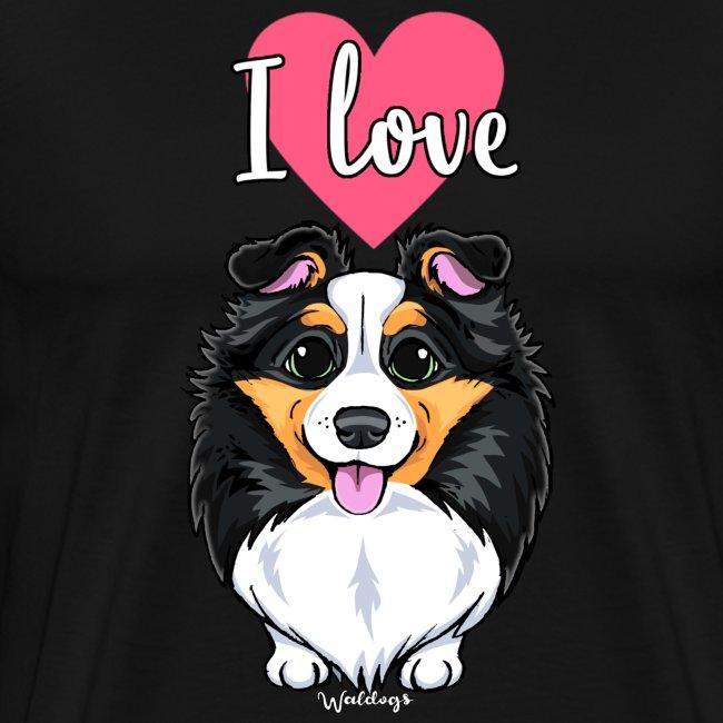 Sheltie Dog Love
