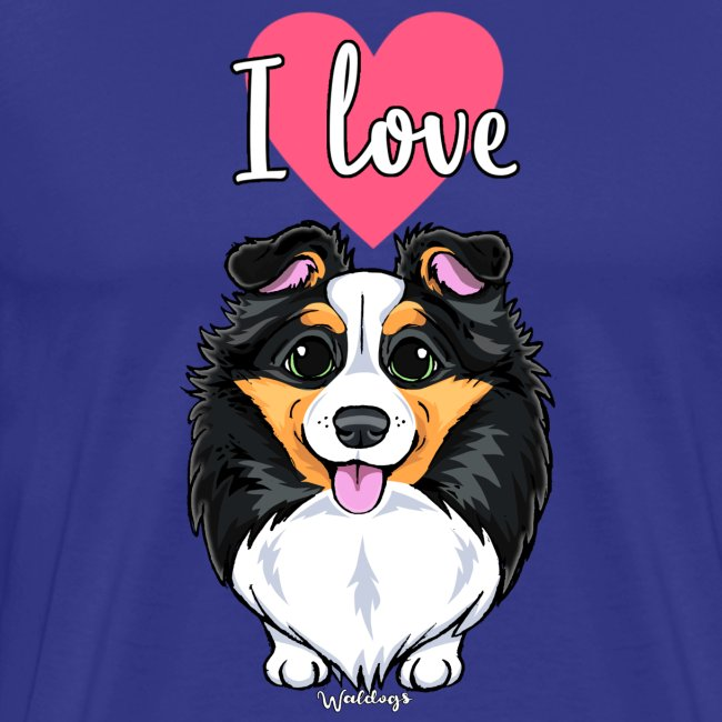 Sheltie Dog Love