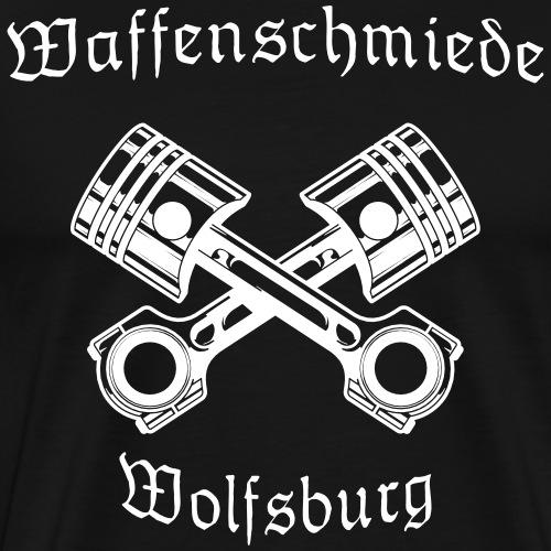 Waffenschmiede Wolfsburg Kolben - Männer Premium T-Shirt