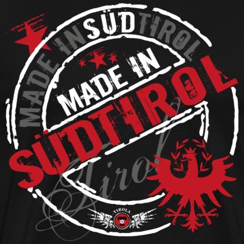 Made in Südtirol weiss - Männer Premium T-Shirt