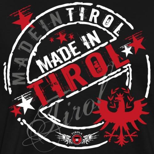 Made in Tirol weiss - Männer Premium T-Shirt