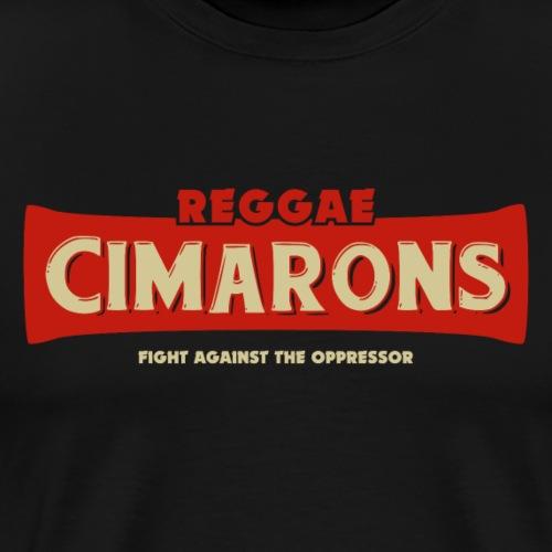 cimarons Reggae fight against the oppressor - Camiseta premium hombre