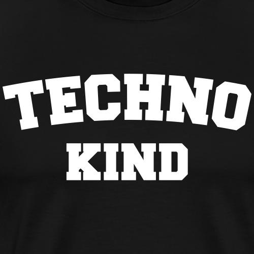 Techno Kind - Männer Premium T-Shirt