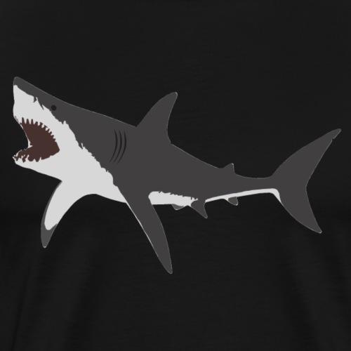 Le Grand Requin Blanc - T-shirt Premium Homme