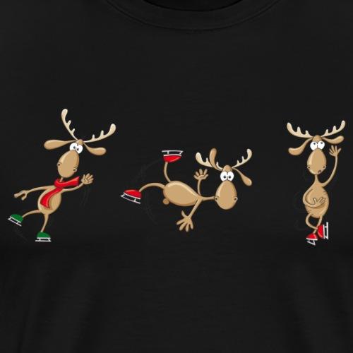 3 Elche - Männer Premium T-Shirt