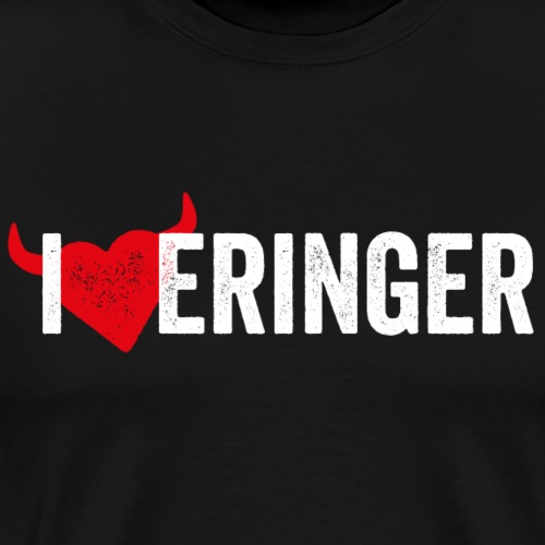 I LOVE ERINGER - Männer Premium T-Shirt