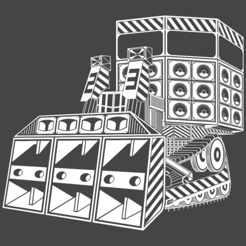 bulldozer 23 - T-shirt Premium Homme