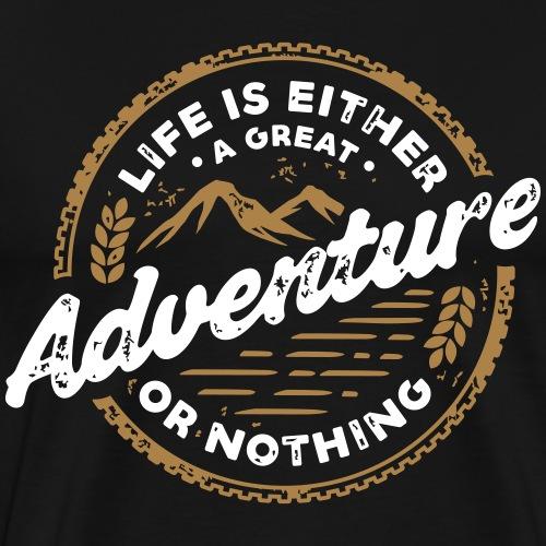 Adventure T-Shirt ✅ - Männer Premium T-Shirt
