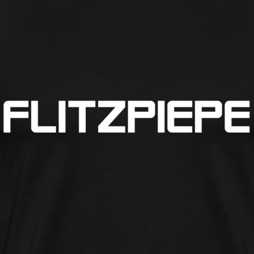 Flitzpiepe white - Männer Premium T-Shirt