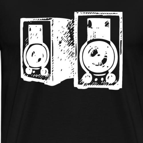 DJ Symbol Musikboxen Musik Lautsprecher - Männer Premium T-Shirt