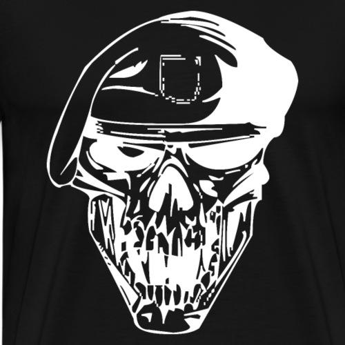 Skull Symbol Totenkopf Schädel Totenschädel - Männer Premium T-Shirt