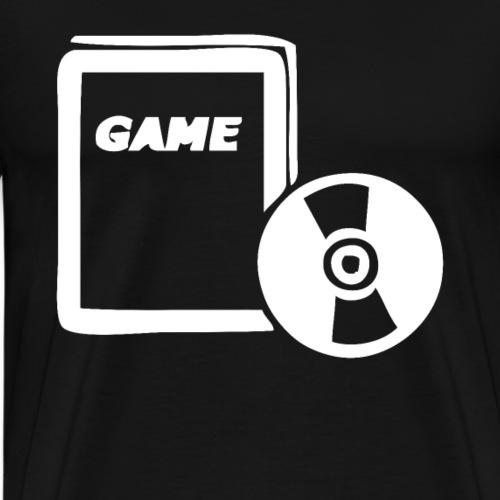 Video Games Symbol Spiele Spieler Gamer Streamer - Männer Premium T-Shirt
