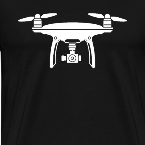 Drone Dronen Pilot Fliegen Kamera Rotor Hobby - Männer Premium T-Shirt