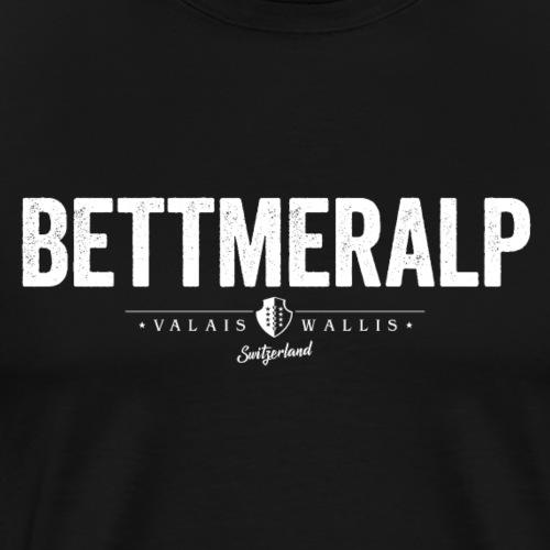 BETTMERALP - Männer Premium T-Shirt