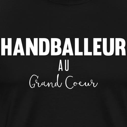 Handballeur au grand coeur - T-shirt Premium Homme