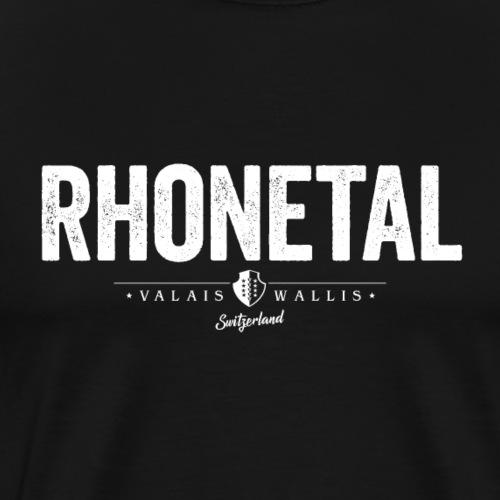 RHONETAL - Männer Premium T-Shirt