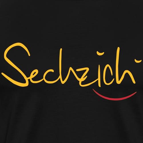 sechzich - Männer Premium T-Shirt