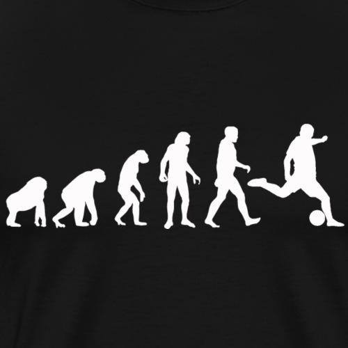 Fußball-Evolution Fußballmannschaft Fußballer - Männer Premium T-Shirt