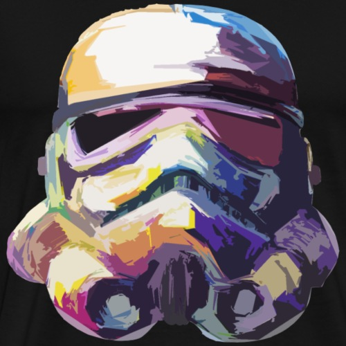Stormtrooper with Hope - Men's Premium T-Shirt