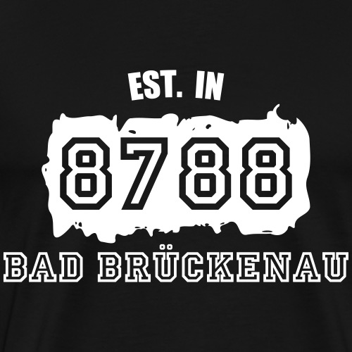 Established 8788 Bad Brückenau - Männer Premium T-Shirt