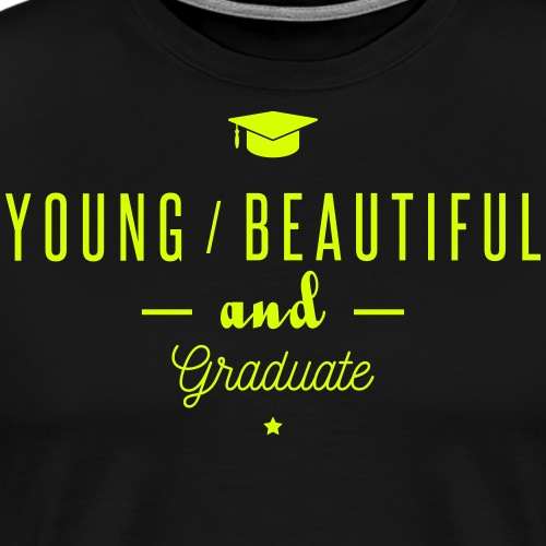 young and graduate - T-shirt Premium Homme