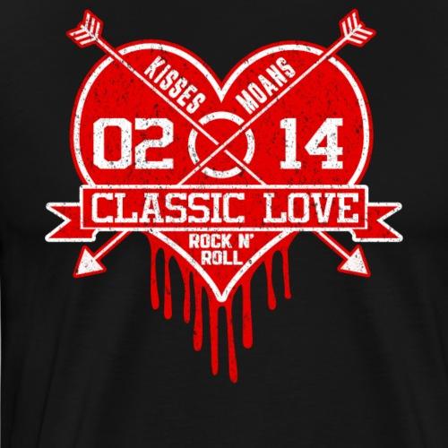 Geschenk für Valentinstag Liebe Paar Ehefrau Mann - Männer Premium T-Shirt