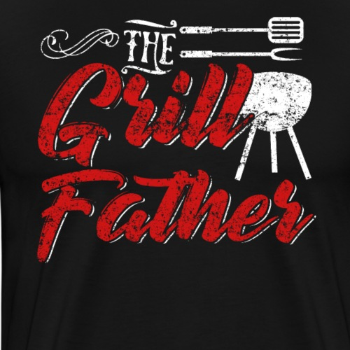 The Grillfather Godfather Grillmaster - Männer Premium T-Shirt
