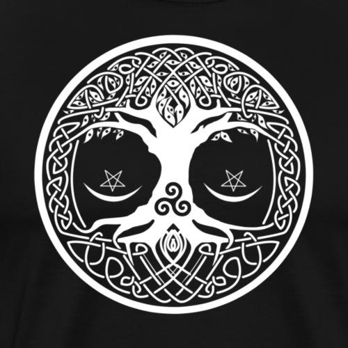 celtic tree - Camiseta premium hombre