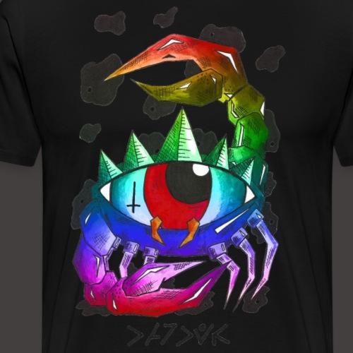 cancer multi-color - T-shirt Premium Homme