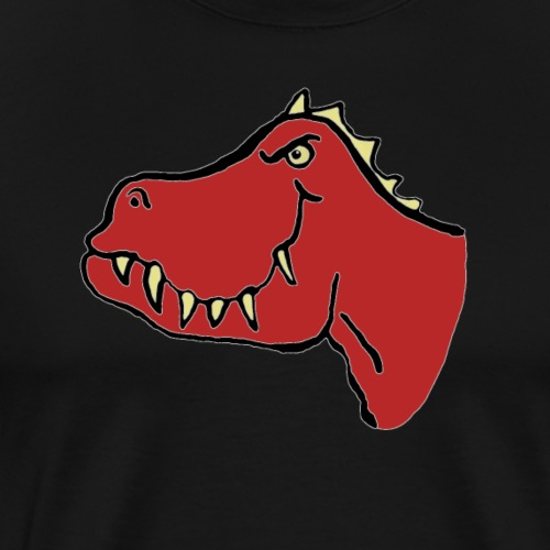 T Rex, Red Dragon - Men's Premium T-Shirt