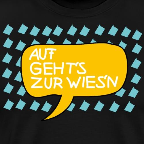 Wiesnfestl Oktoberfest - Männer Premium T-Shirt