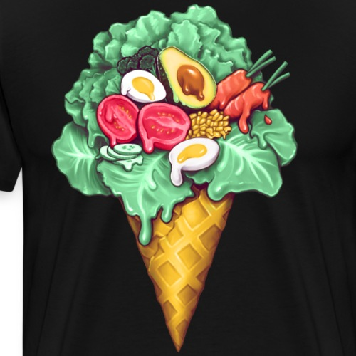 Crème Glacée Salade Composée - T-shirt Premium Homme